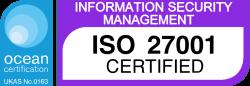 Ocean Logo ISO27001 e1549298750212