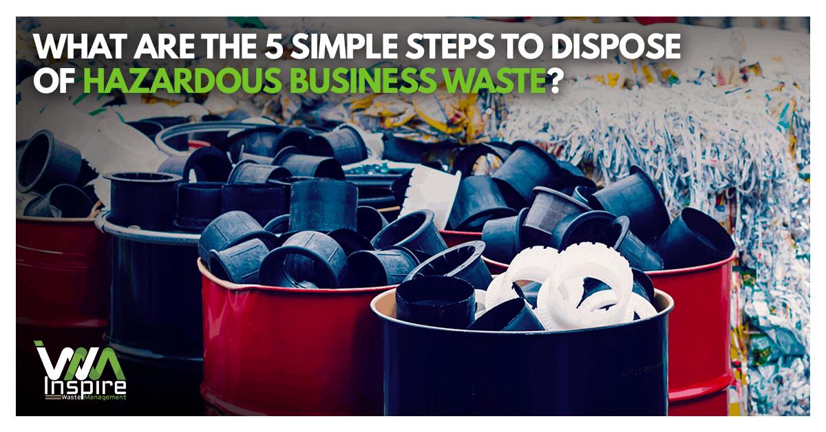 Hazardous business waste