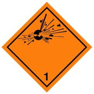 HAZMAT-Class-1-Explosive-materials