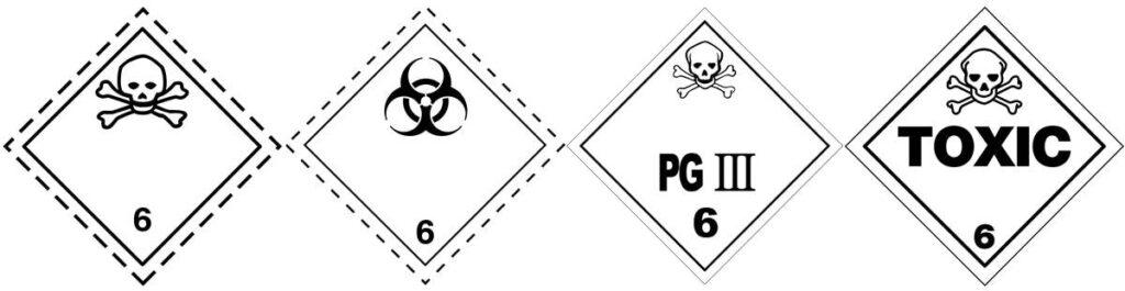 HAZMAT Class 6 Toxic and Infectious Substances