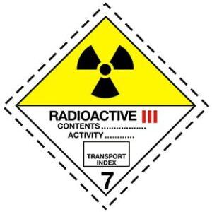 HAZMAT Class 7 Radioactive materials