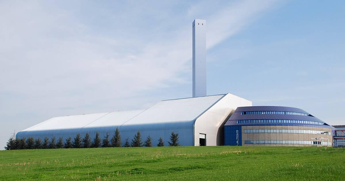 Modern Hazardous Waste Incineration Plant Facilities