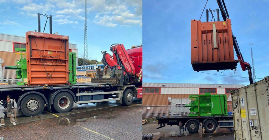 Cardboard Baler Rental Inspire Waste Management