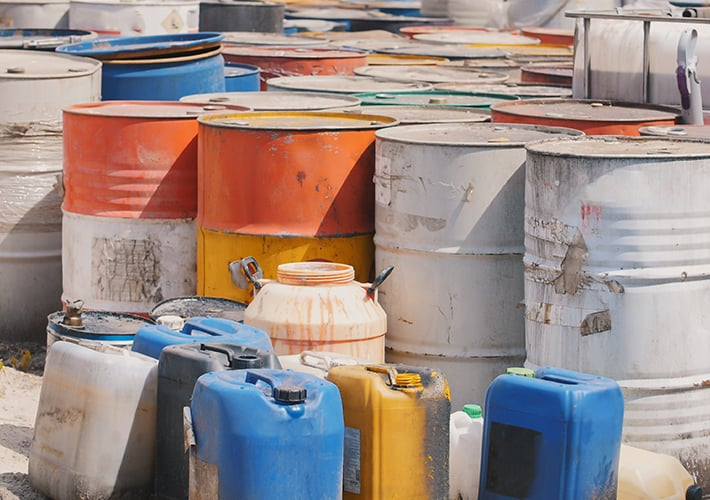 Solvent waste disposal services